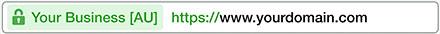certificado SSL extendido