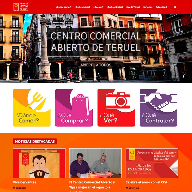 Centro Comercial Abierto de Teruel
